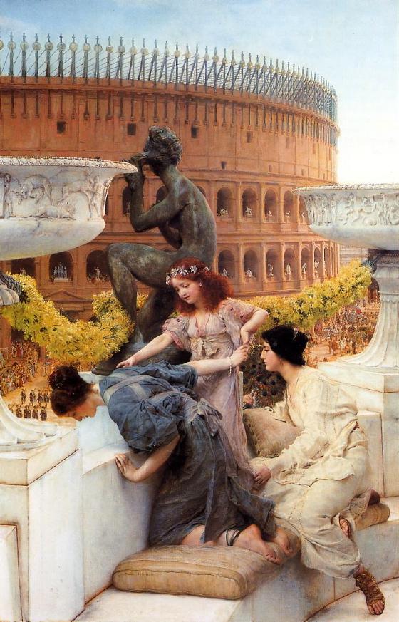 Alma tadema victorian erotic