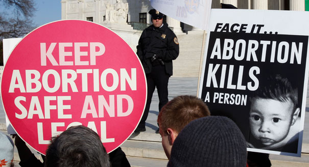 AbortionSignsProCon