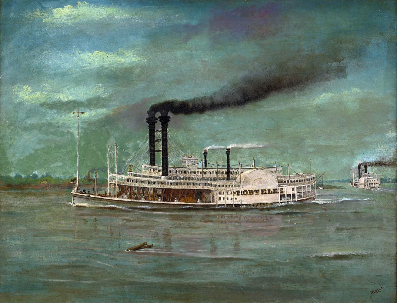 August_Norieri-Robert_E_Lee_Steamboat._1876_Baja