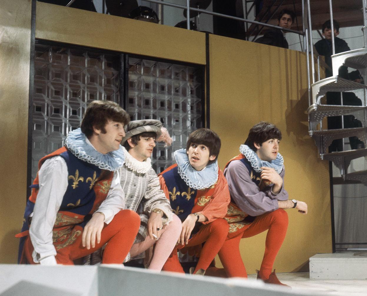 BeatlesCourtiers1964