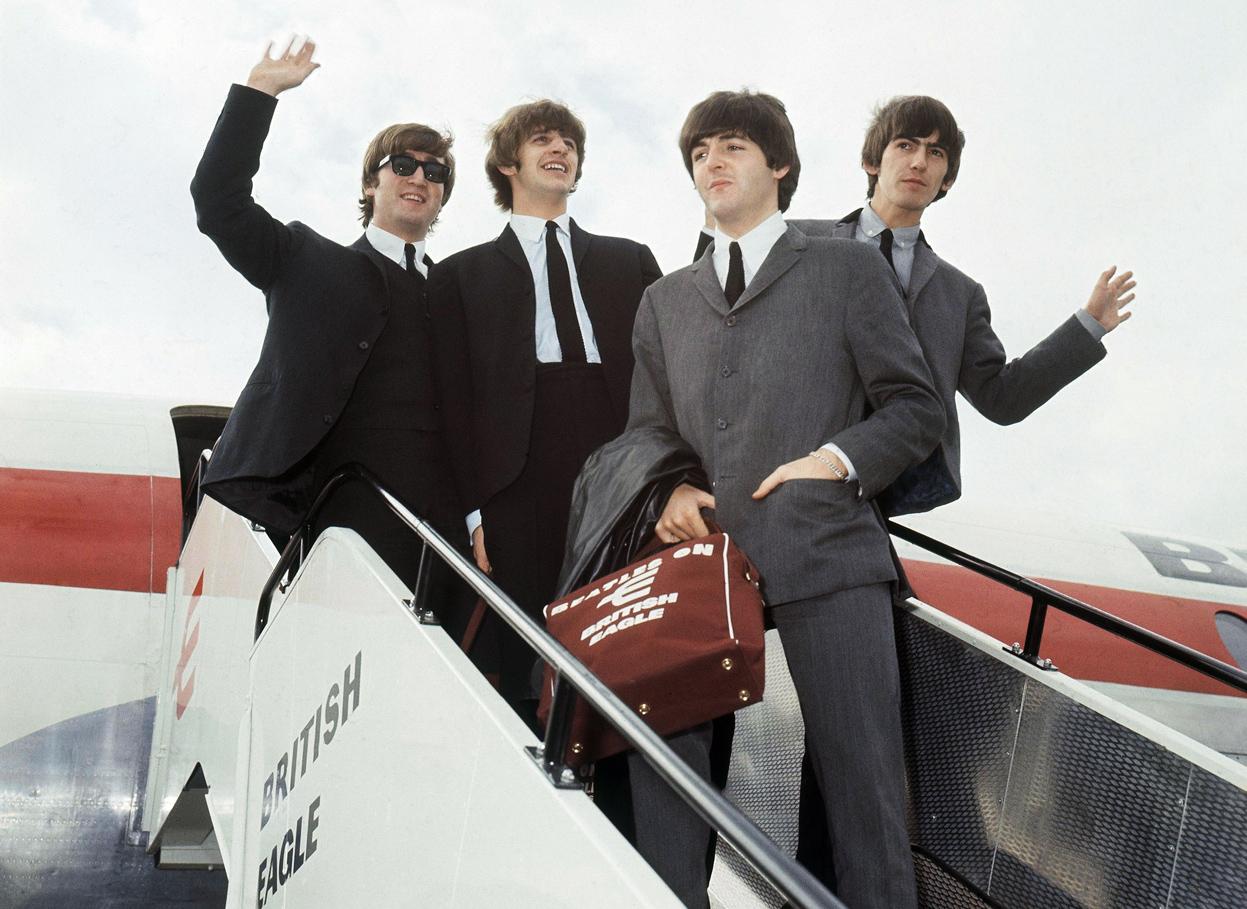 BeatlesOffToNY1964