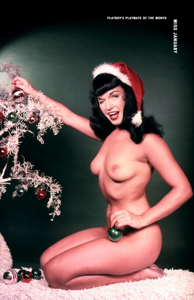 Bettie Page Christmas Playmate Baja