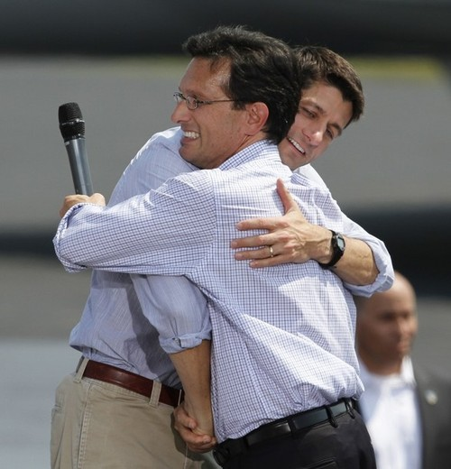 Paul Ryan, Eric Cantor