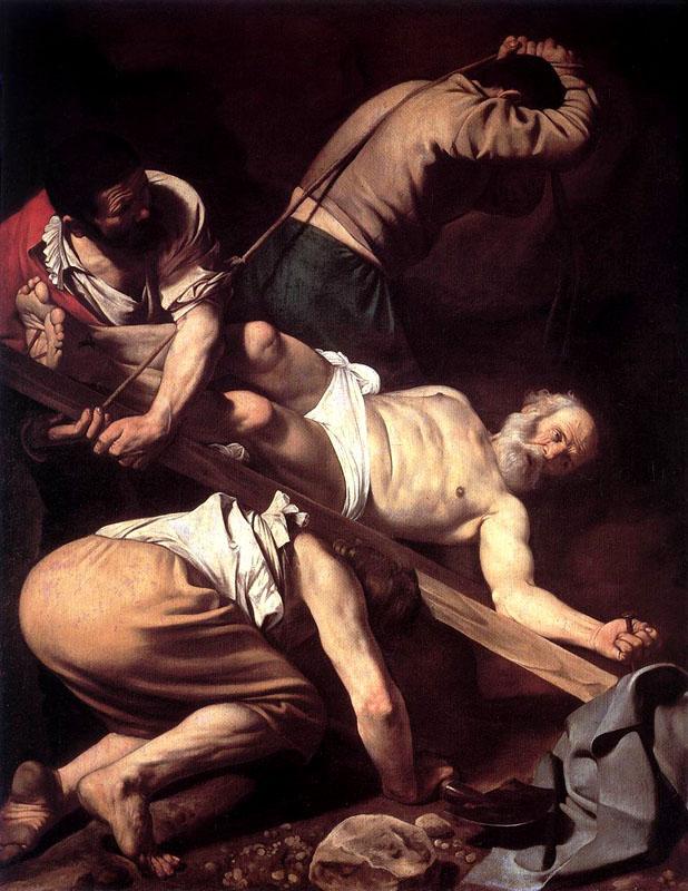 CaravaggioCrucifixionStPeter