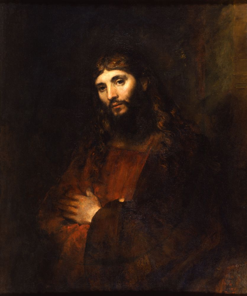 Christ_with_Arms_Folded_Rembrant_van_Rijin - Baja