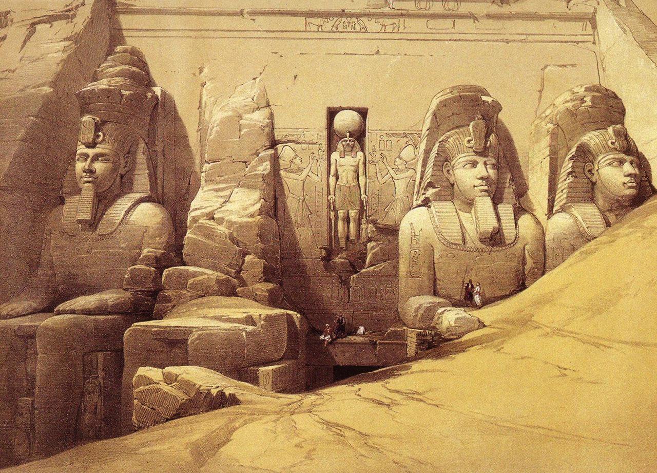 DavidRobertsEgyptianMonuments