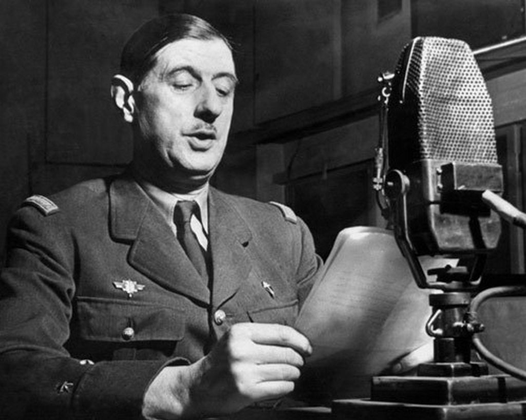 De Gaulle Radio Address