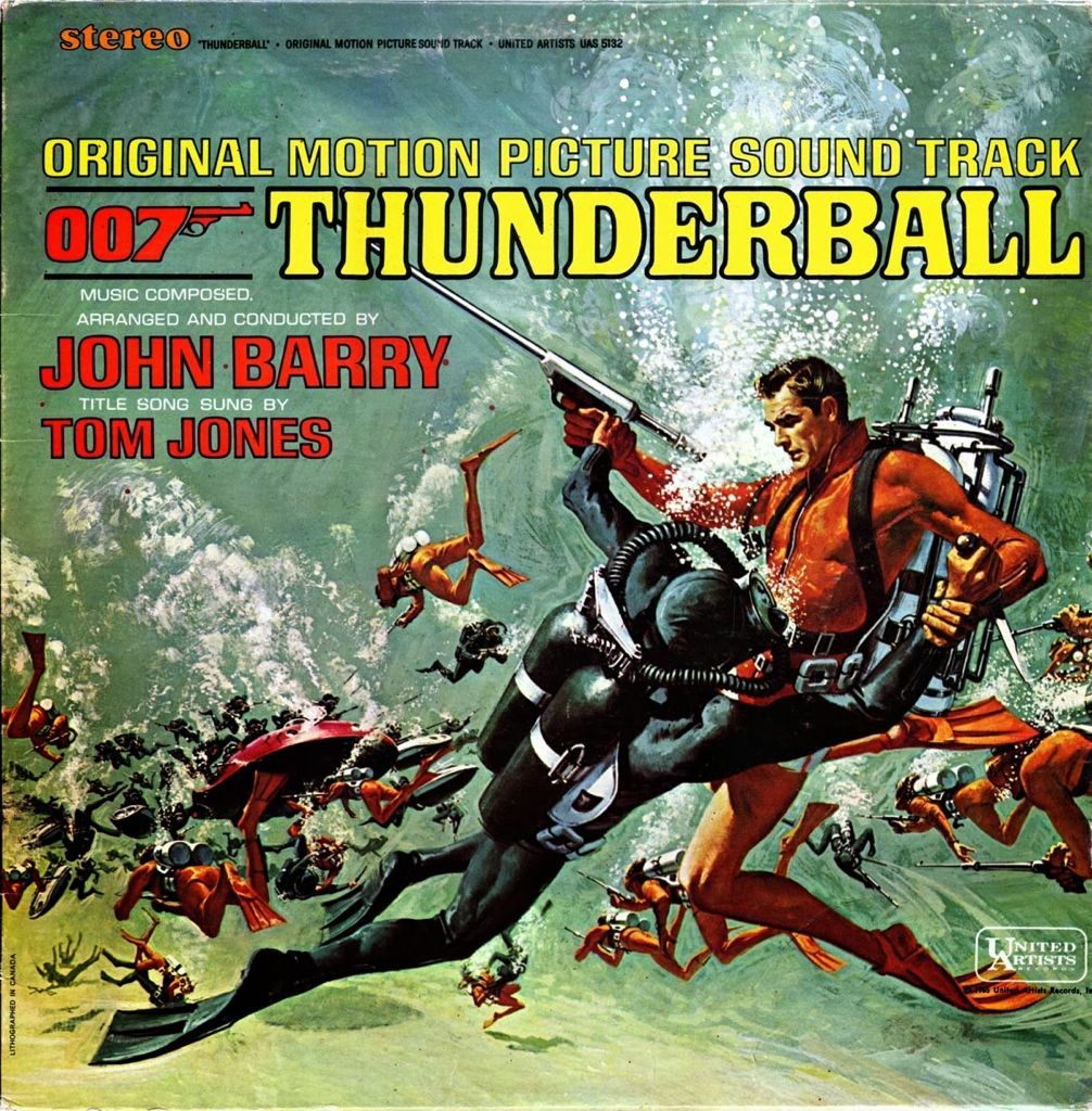 Frank McCarthy Thunderball LP Cover Baja
