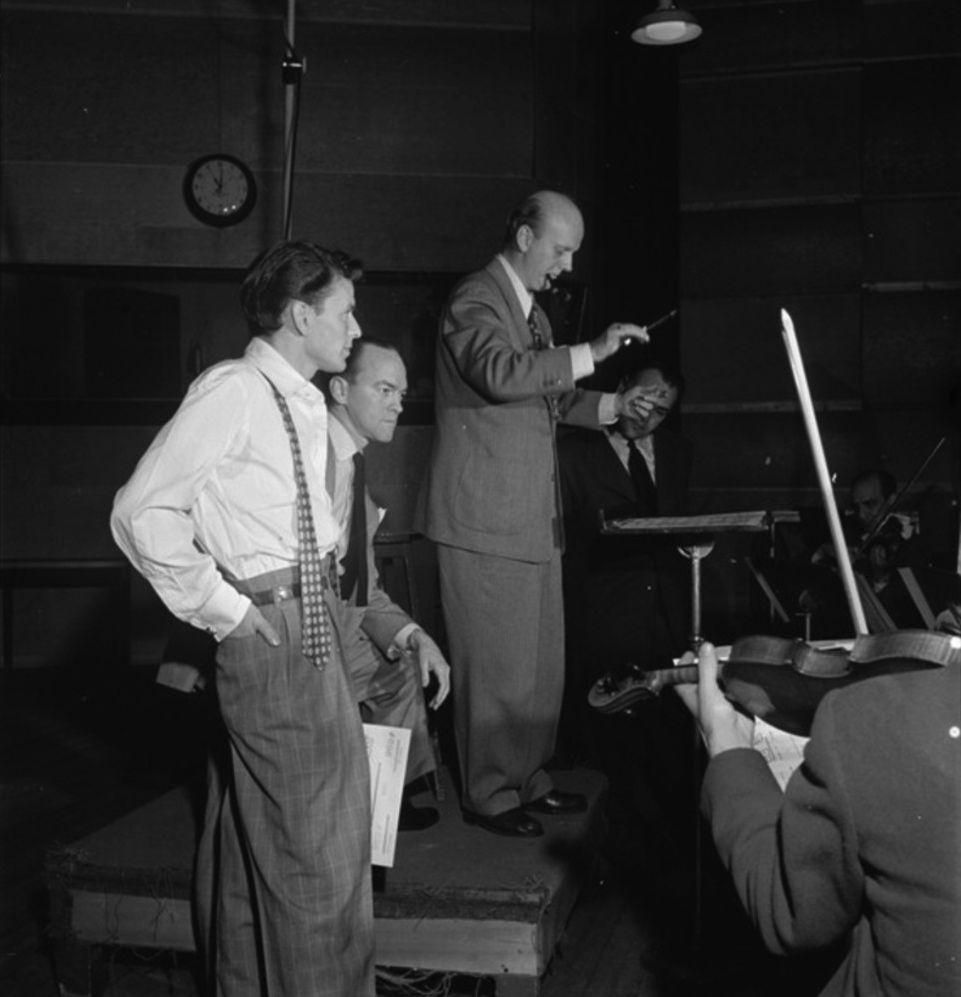Frank Sinatra Alex Stordahl 1947 Baja