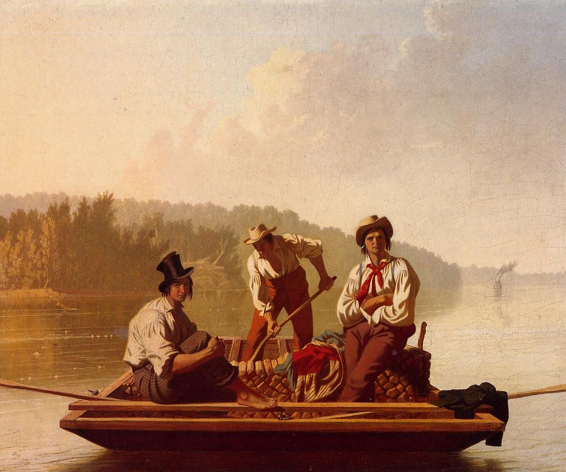 George-Caleb-Bingham-xx-Boatmen-on-the-Missouri