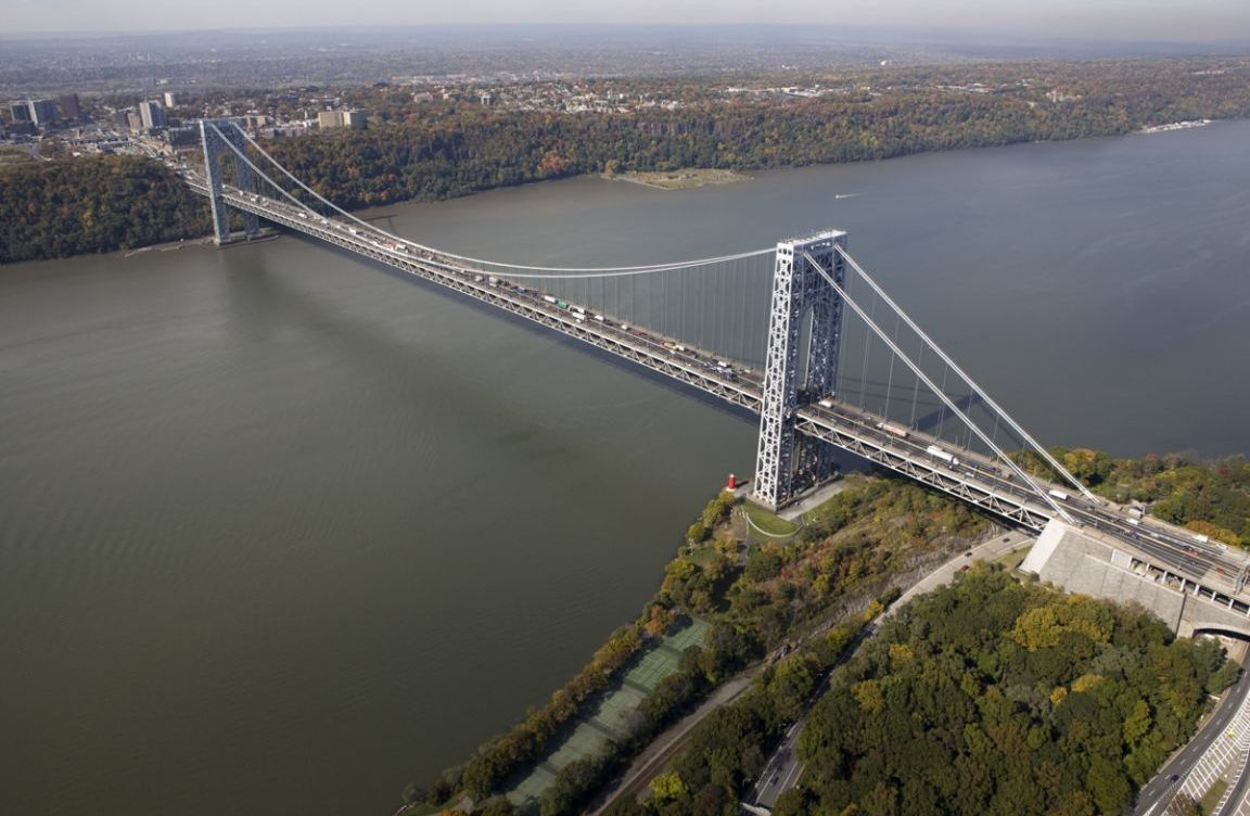GeorgeWashingtonBridgeAerial