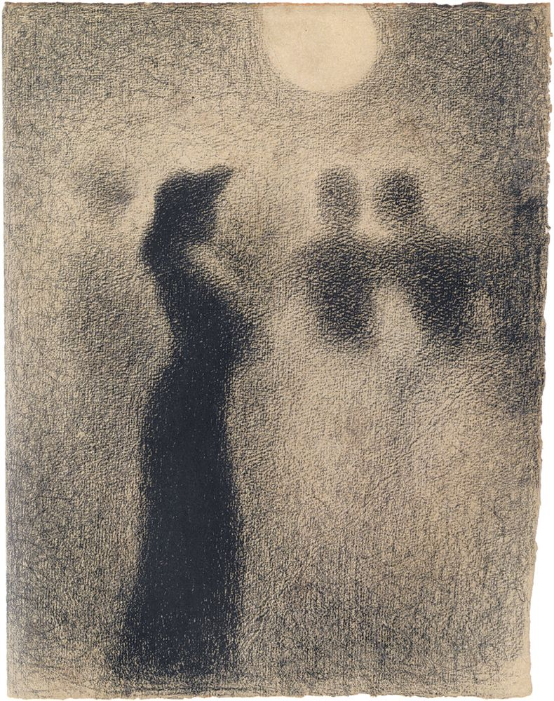 Georges Seurat: Night Stroll, 1887–1888