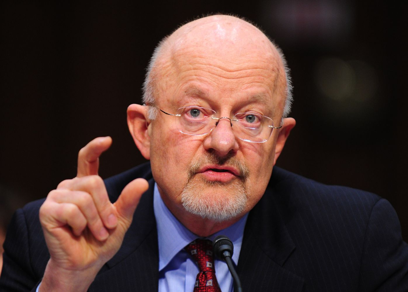 Director of National Intelligence James Clapper testifies in Washington