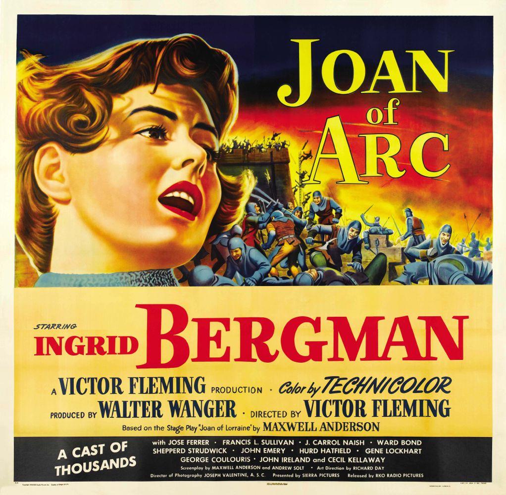 Joan of Arc (1948) Poster Baja