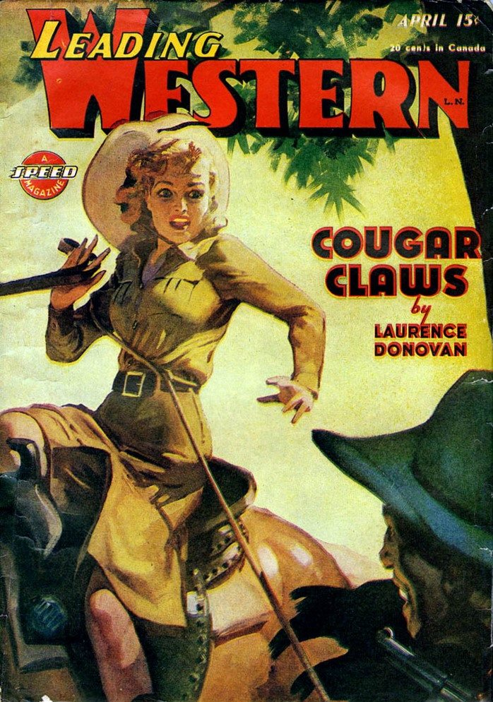 Leading WesternCoverCougar
