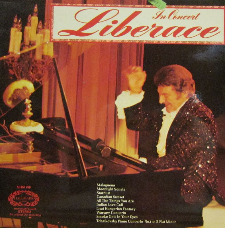LiberaceConcertLPCover