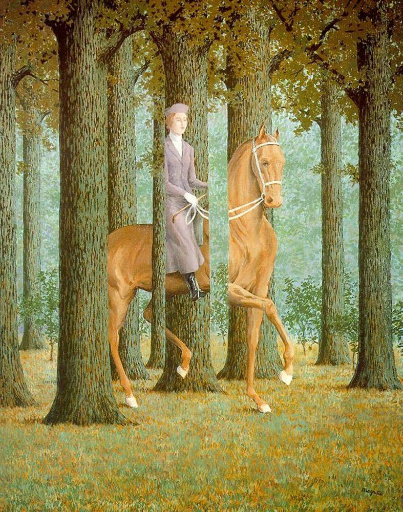 MagritteEquestrienneBaja