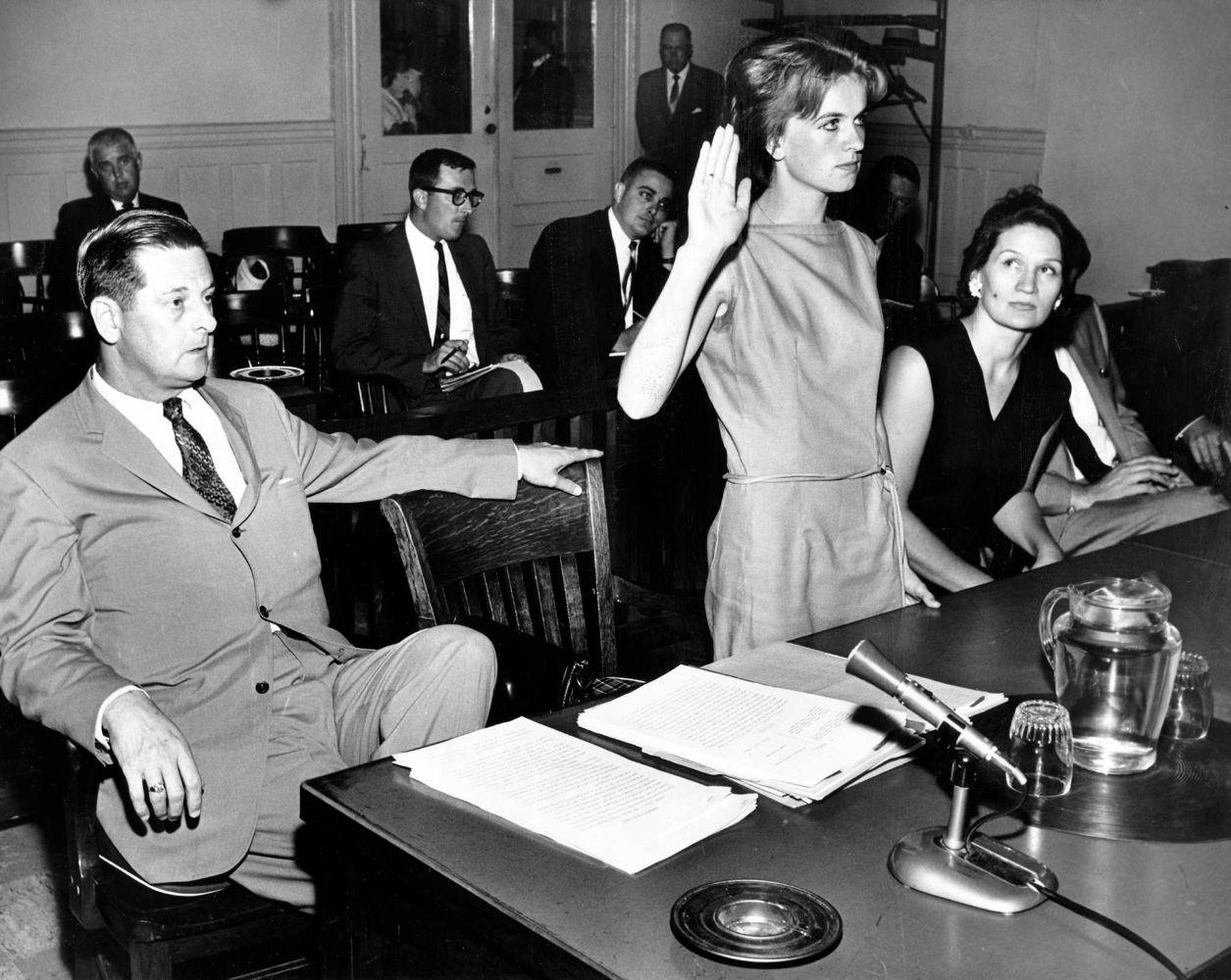 Kennedy assassinís widow