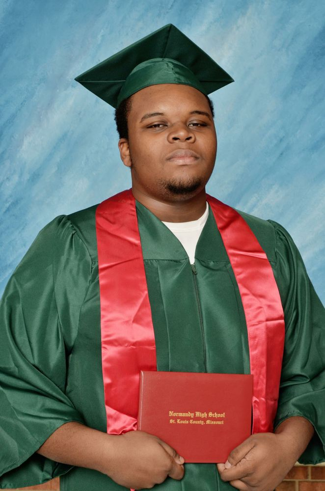 MichaelBrownGraduationPhoto