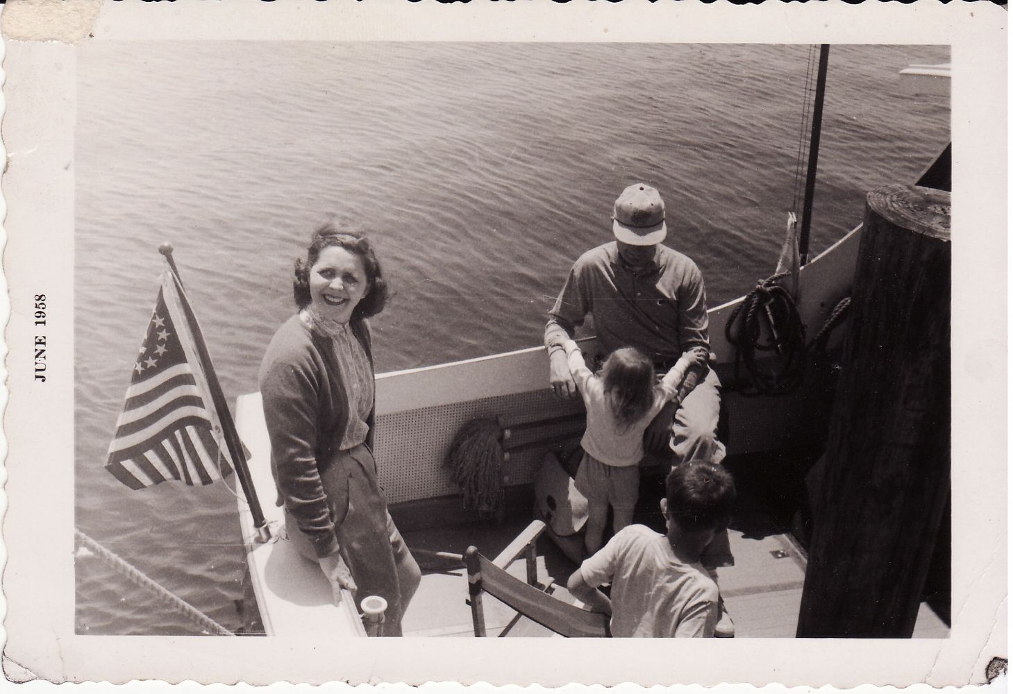 Mom Dad Lloyd Lee Boat Baja