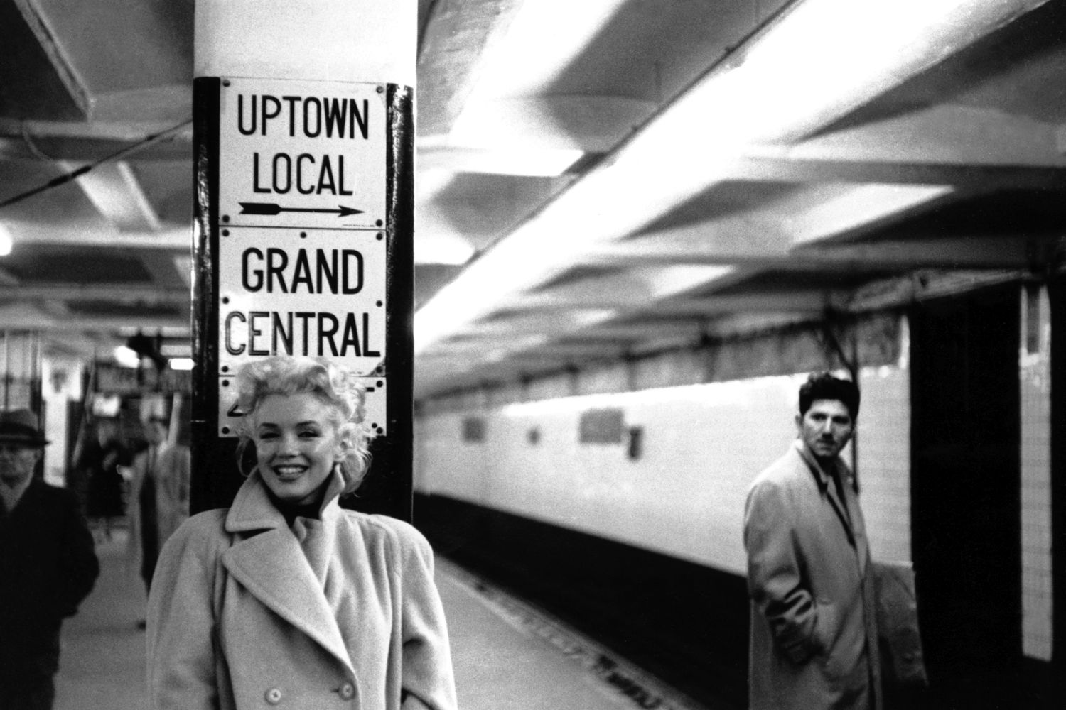 Marilyn In Grand Central Station