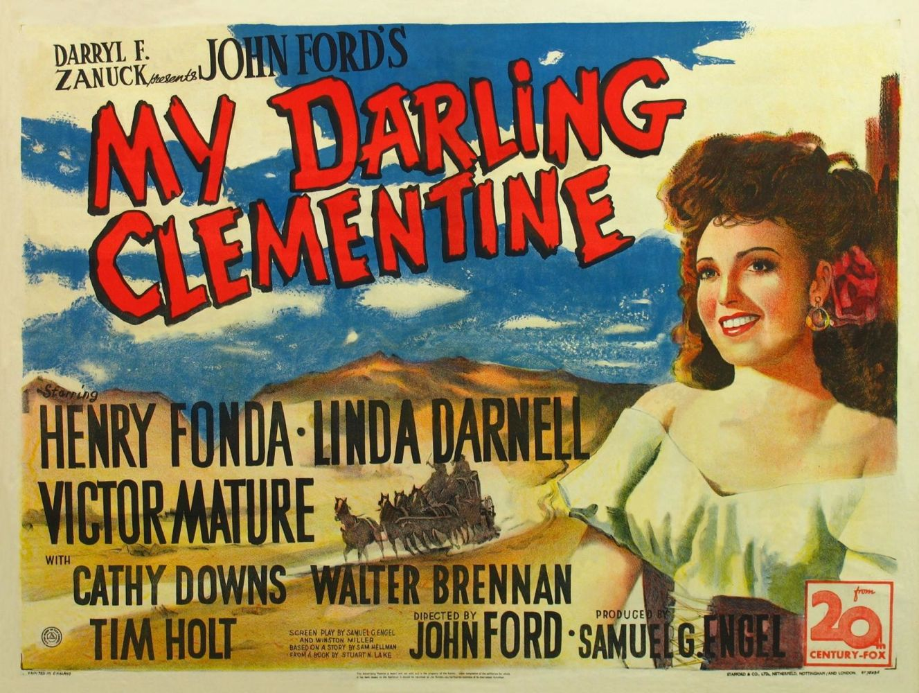 My-Darling-Clementine-Poster-Baja