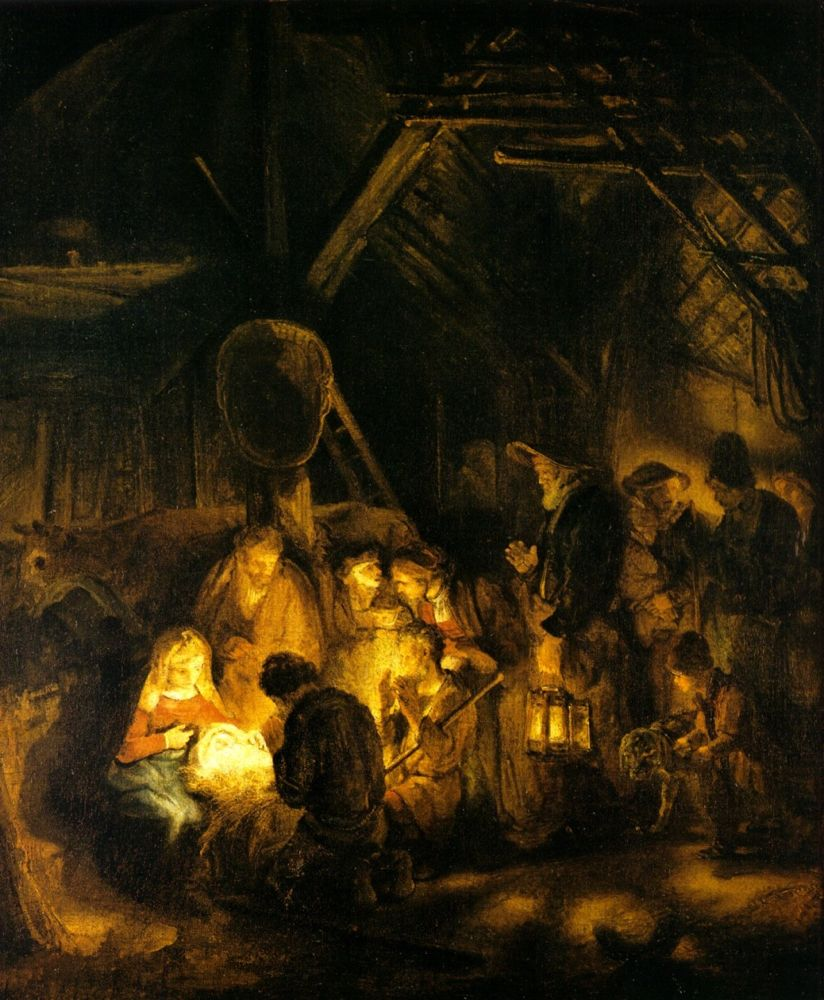 Nativity by Rembrandt Baja
