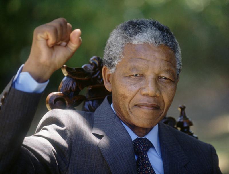 Nelson Mandela Fist