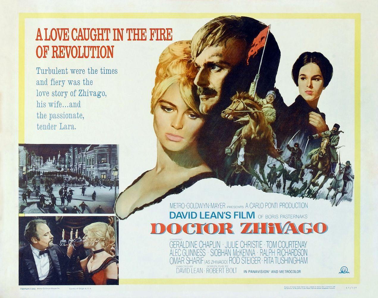 Poster Doctor Zhivago Baja