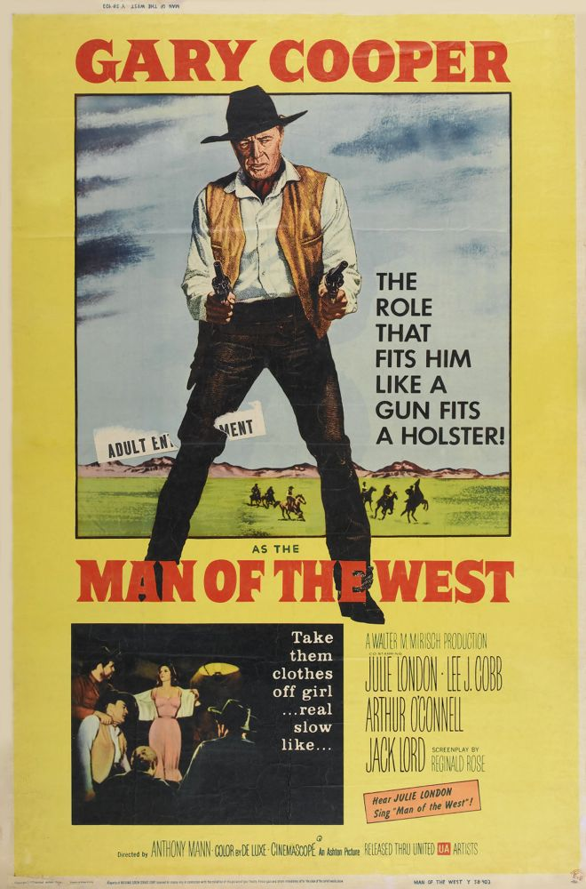 Poster Man of the West Baja