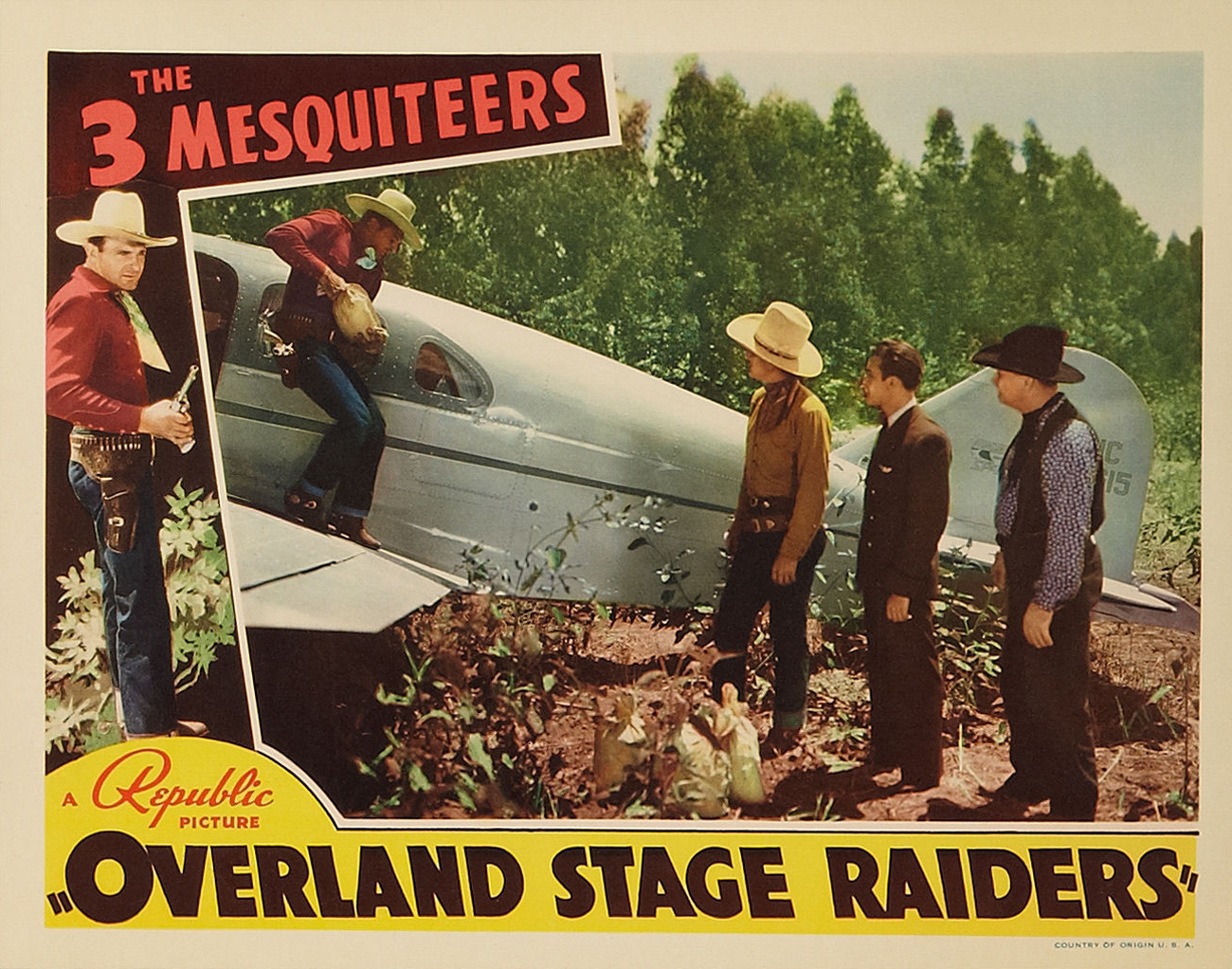 Poster - Overland Stage Raiders_11
