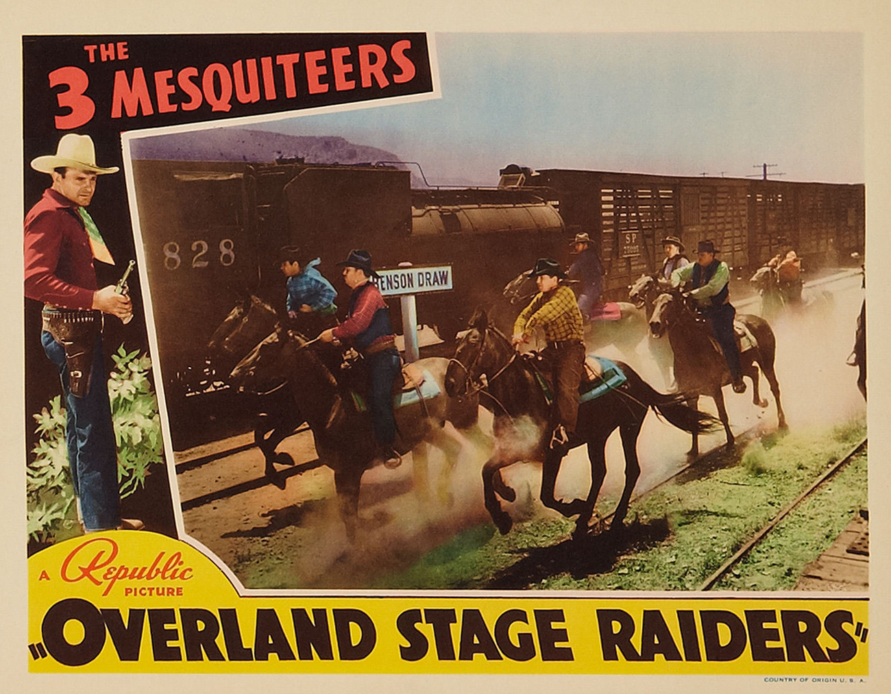 Poster - Overland Stage Raiders_12