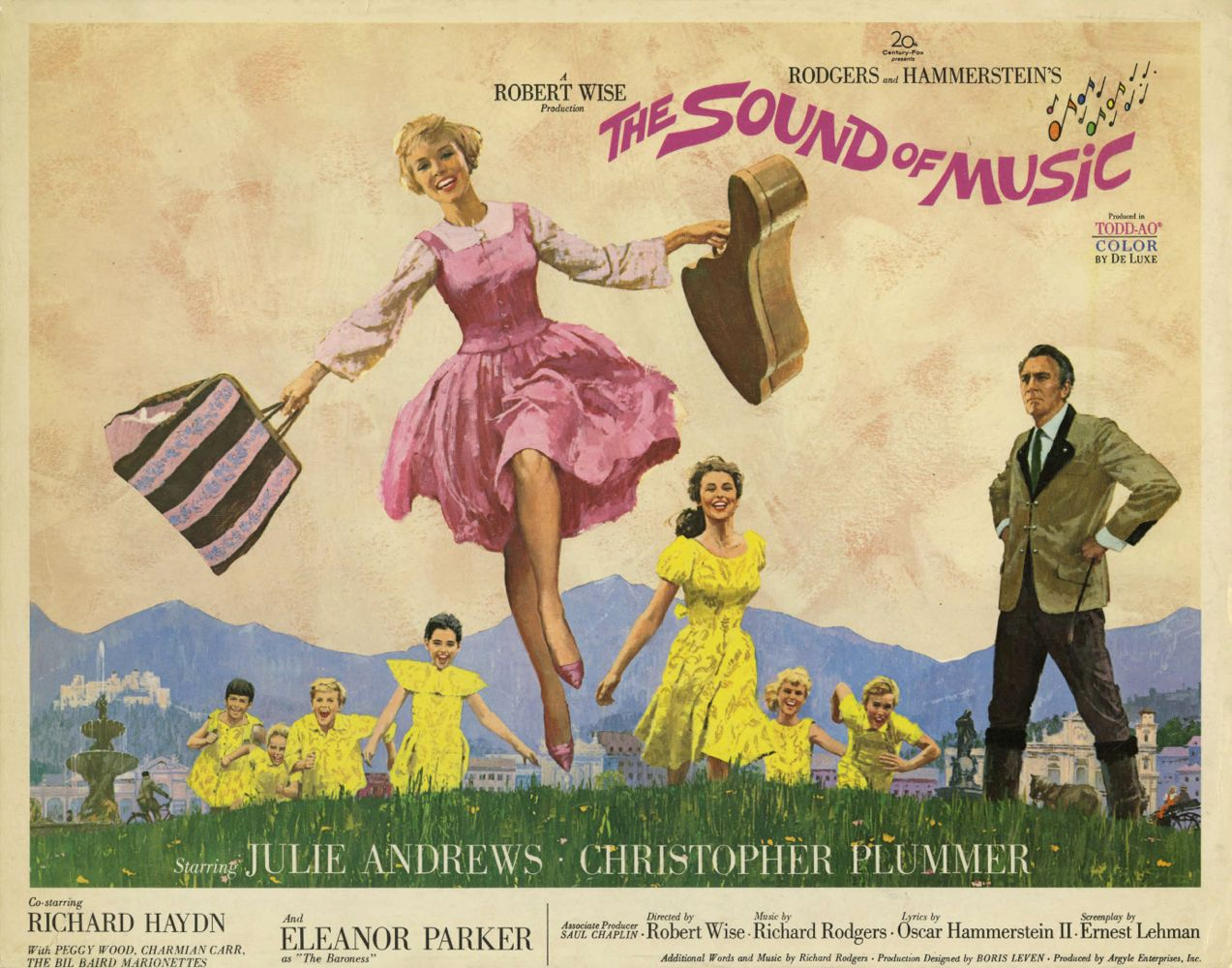 Poster Sound of Music Horizontal Baja