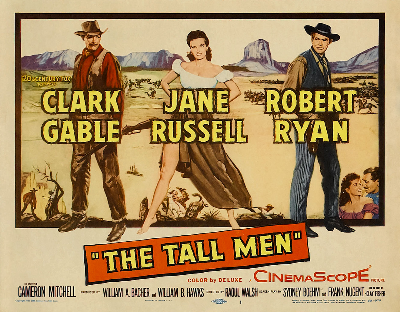 Poster - Tall Men, The_02