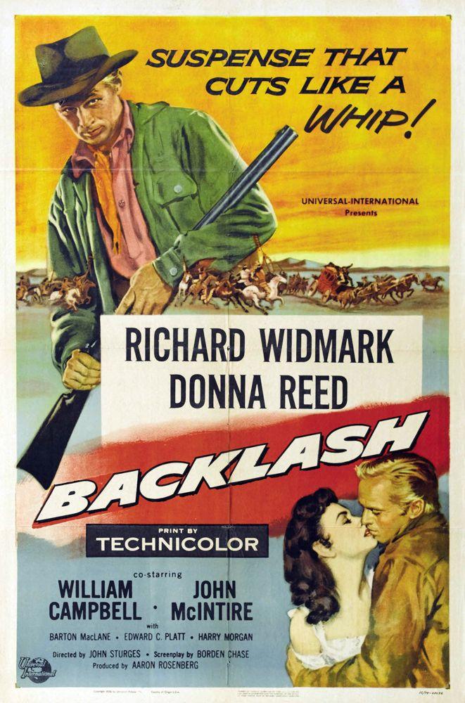 PosterBacklash(1956)Baja