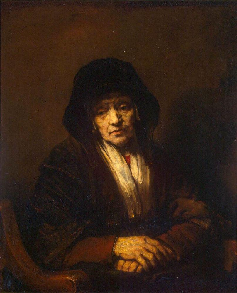 RembrandtPortraitOldWomanBaja