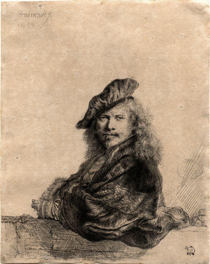 RembrandtSelfPotraitHatBaja