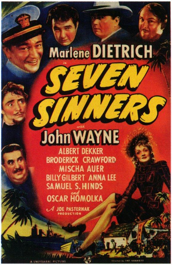 SevenSinnersPoster1940