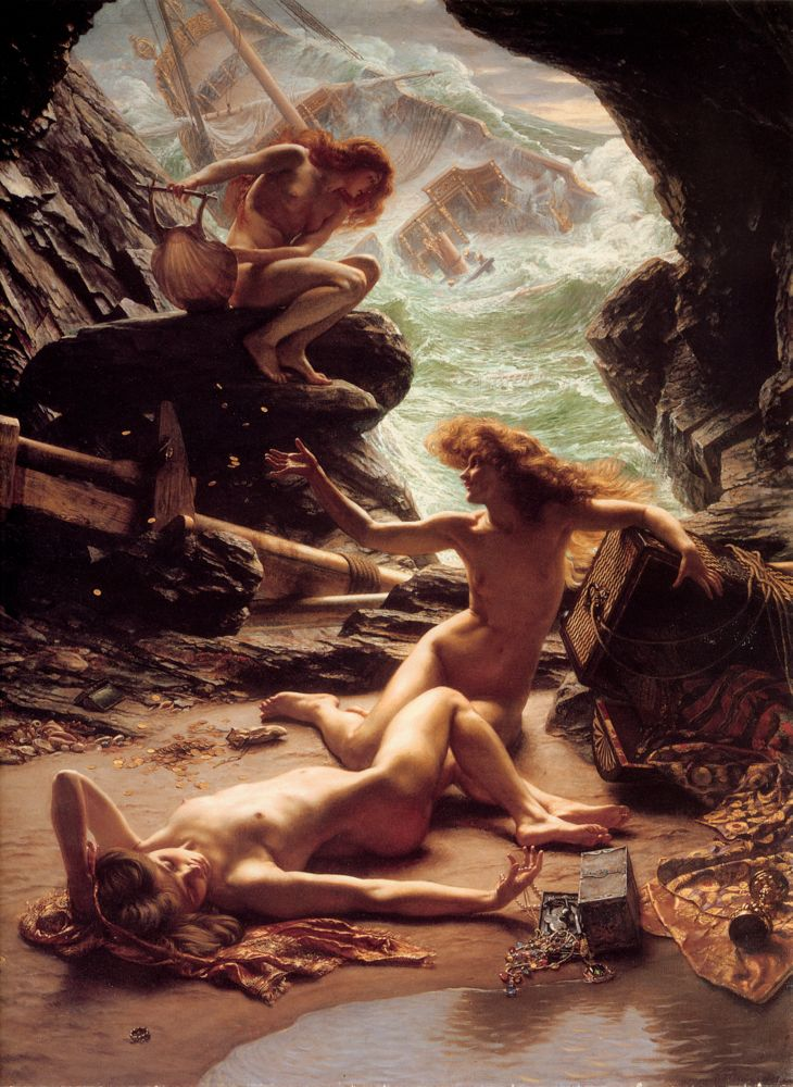 Sir_Edward_John_Poynter_—_Cave_of_the_Storm_Nymphs_Baja