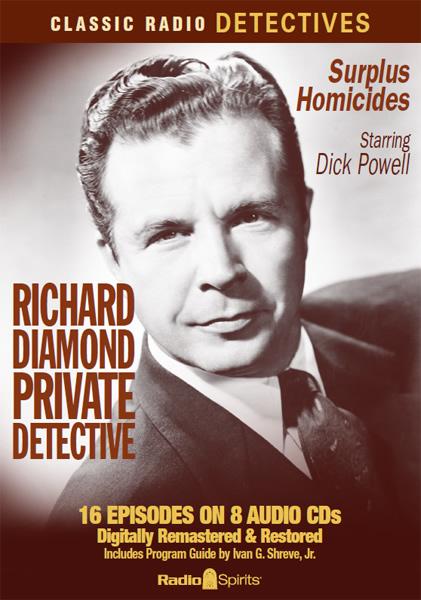 RICHARD DIAMOND, PRIVATE DETECTIVE | mardecortésbaja com
