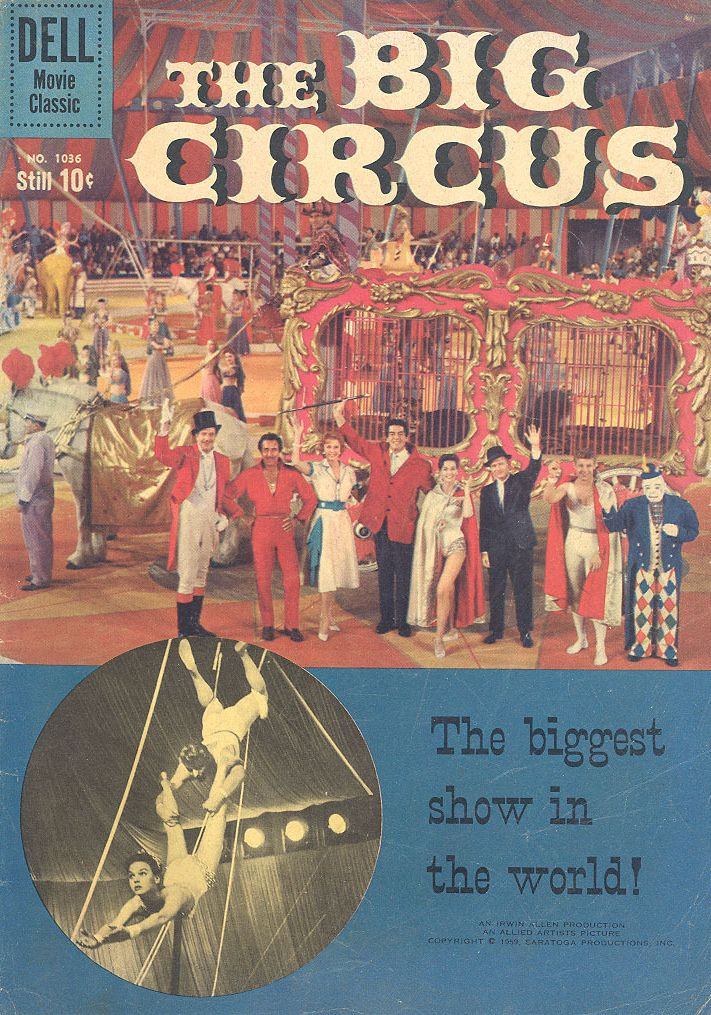 The Big Circus Comic Book