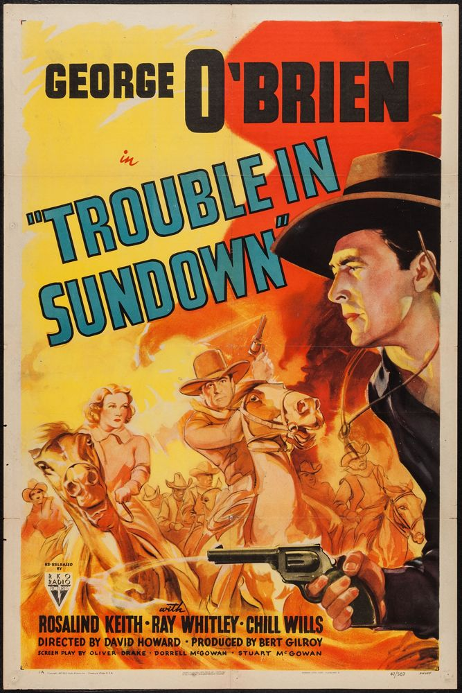 TroubleSundownPosterBaja